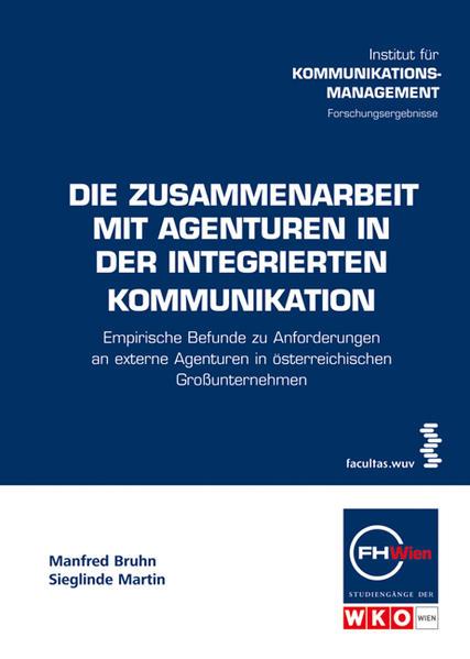 Die Zusammenarbeit mit Agenturen in der integrierten Kommunikation - Coverbild