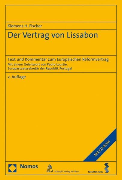 Der Vertrag von Lissabon - Coverbild