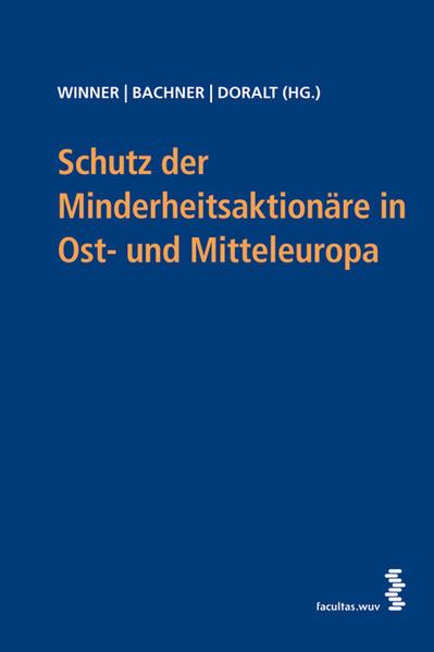 Schutz der Minderheitsaktionäre in Mittel- und Osteuropa - Coverbild