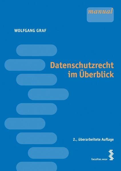 Datenschutzrecht im Überblick - Coverbild