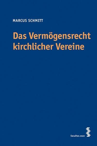 Das Vermögensrecht kirchlicher Vereine - Coverbild