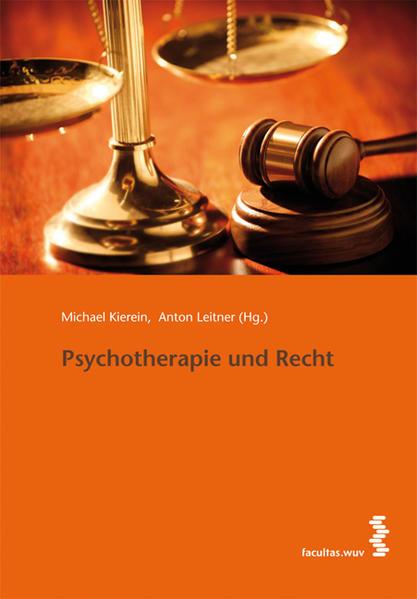 Psychotherapie und Recht - Coverbild