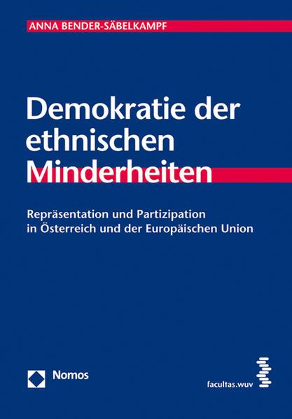 Demokratie der ethnischen Minderheiten - Coverbild