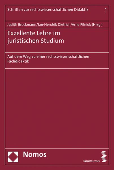 Exzellente Lehre im juristischen Studium - Coverbild