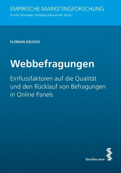 Webbefragungen - Coverbild