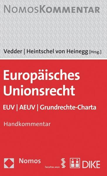 Europäisches Unionsrecht - Coverbild