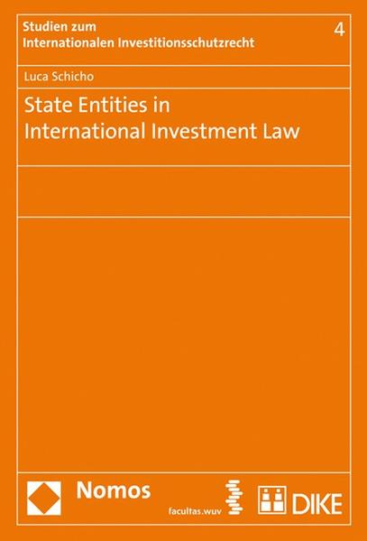 State Entities in International Investment Law - Coverbild