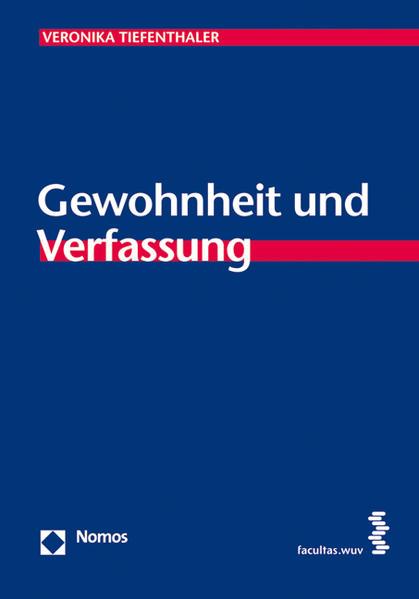 Gewohnheit und Verfassung - Coverbild