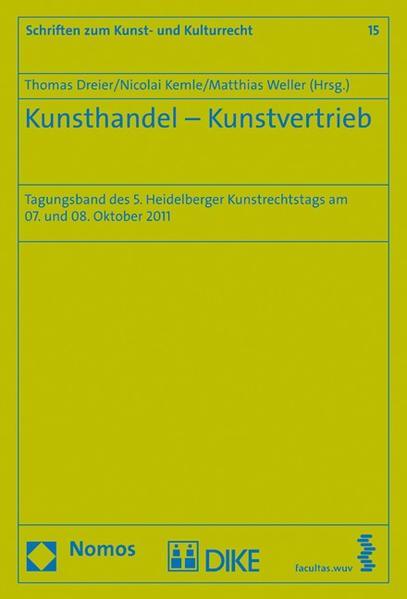 Kunsthandel - Kunstvertrieb - Coverbild