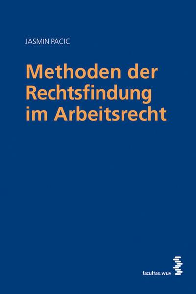 Methoden der Rechtsfindung im Arbeitsrecht - Coverbild