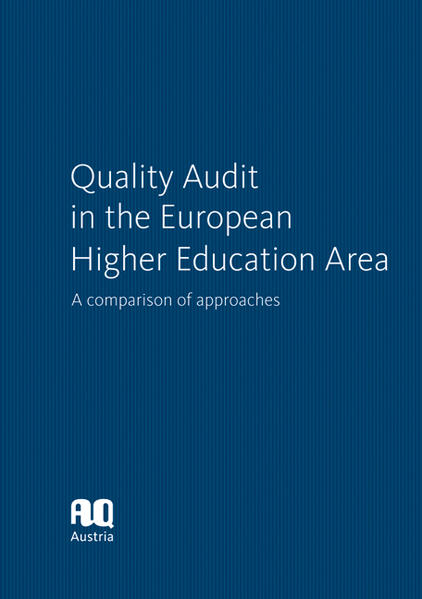 Quality Audit in the European Higher Education Area - Coverbild