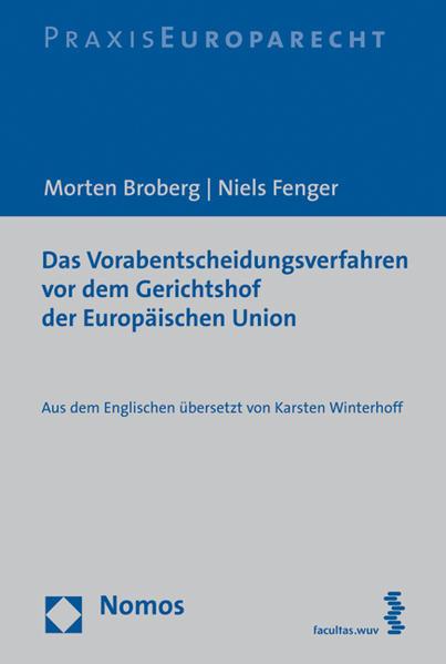 Das Vorabentscheidungsverfahren vor dem Gerichtshof der Europäischen Union - Coverbild