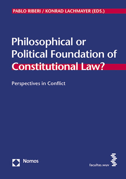 Philosophical or Political Foundation of Constitutional Law? - Coverbild