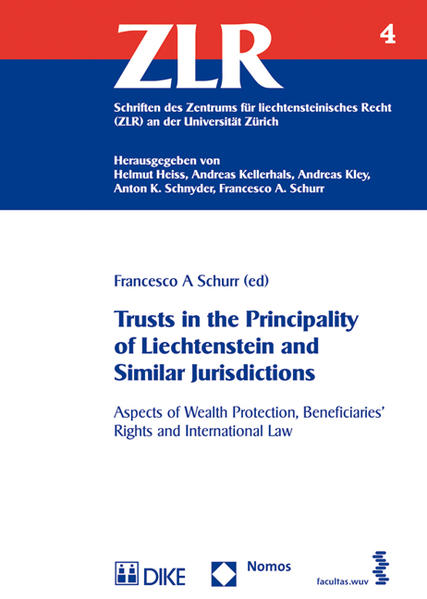 Trusts in the Principality of Liechtenstein and Similar Jurisdictions - Coverbild