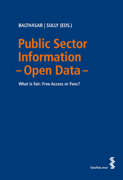 Public Sector Information – Open Data - Coverbild