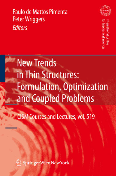 New Trends in Thin Structures: Formulation, Optimization and Coupled Problems - Coverbild