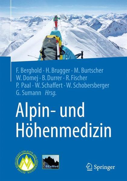 Alpin- und Höhenmedizin - Coverbild