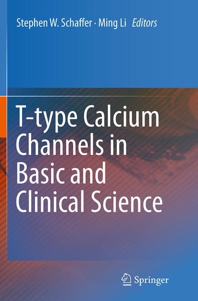 T-type Calcium Channels in Basic and Clinical Science - Coverbild