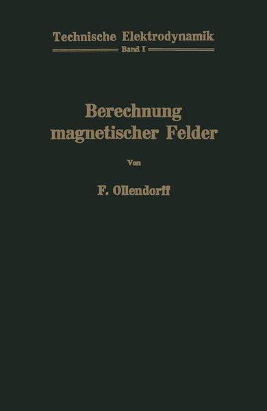 Berechnung magnetischer Felder - Coverbild