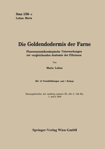 Die Goldendodermis der Farne - Coverbild