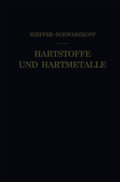 Hartstoffe und Hartmetalle - Coverbild