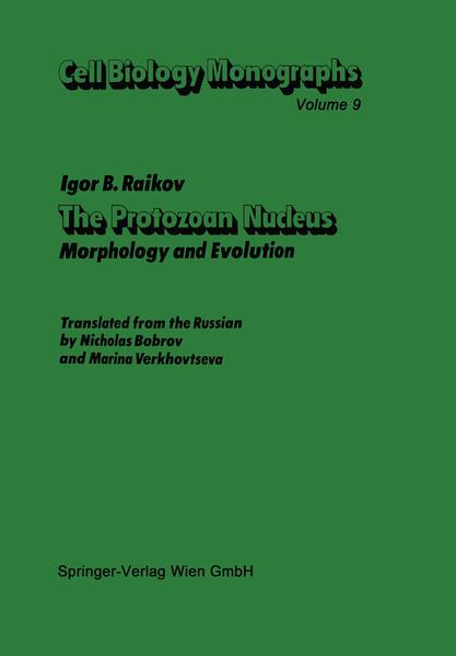 The Protozoan Nucleus - Coverbild