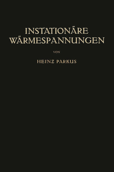 Instationäre Wärmespannungen - Coverbild