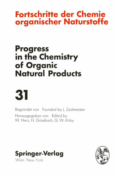 Fortschritte der Chemie Organischer Naturstoffe / Progress in the Chemistry of Organic Natural Products - Coverbild