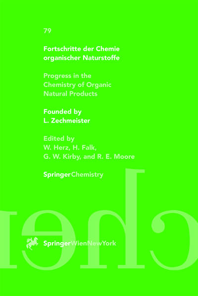 Fortschritte der Chemie organischer Naturstoffe / Progress in the Chemistry of Organic Natural Products - Coverbild