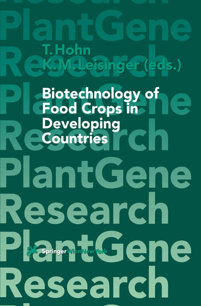 Biotechnology of Food Crops in Developing Countries - Coverbild