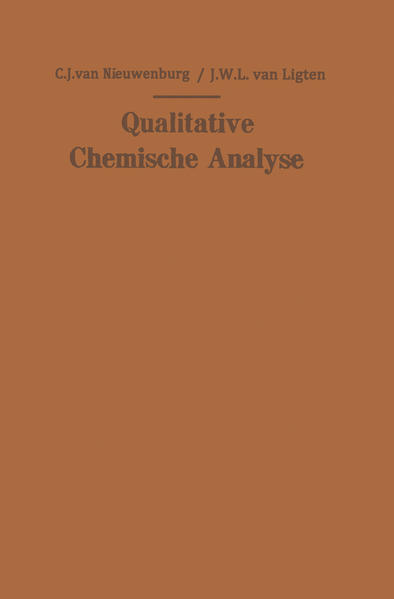 Qualitative Chemische Analyse - Coverbild