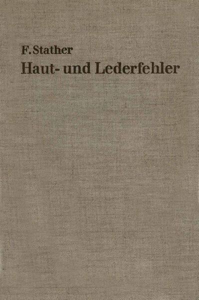 Haut- und Lederfehler - Coverbild