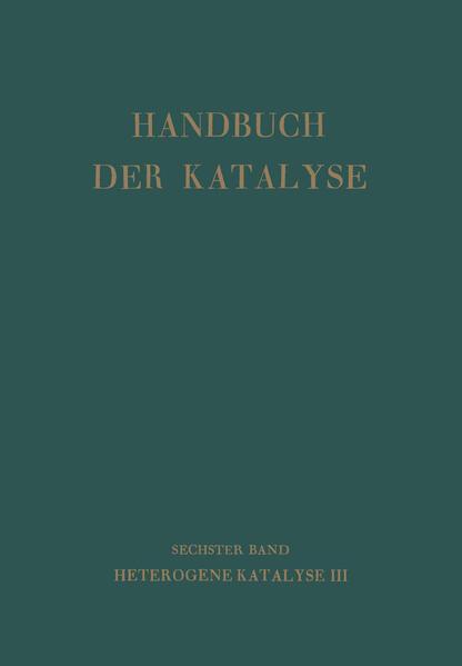 Handbuch Der Katalyse - Coverbild
