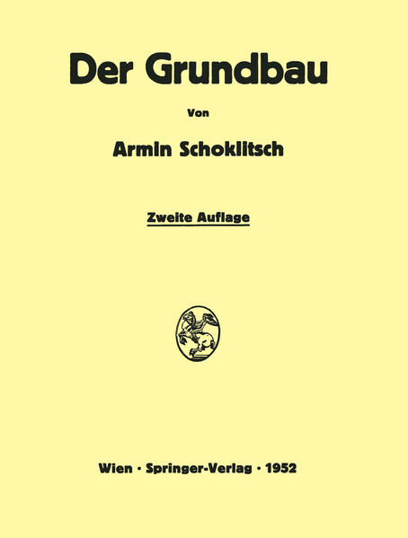 Der Grundbau - Coverbild