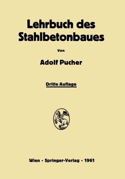 Lehrbuch des Stahlbetonbaues - Coverbild