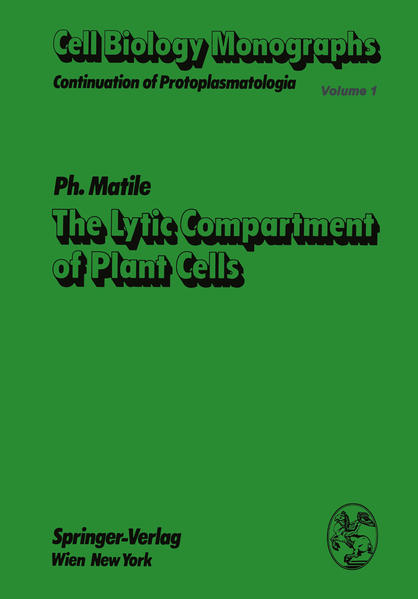 The Lytic Compartment of Plant Cells - Coverbild