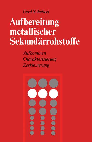Aufbereitung metallischer Sekundärrohstoffe - Coverbild