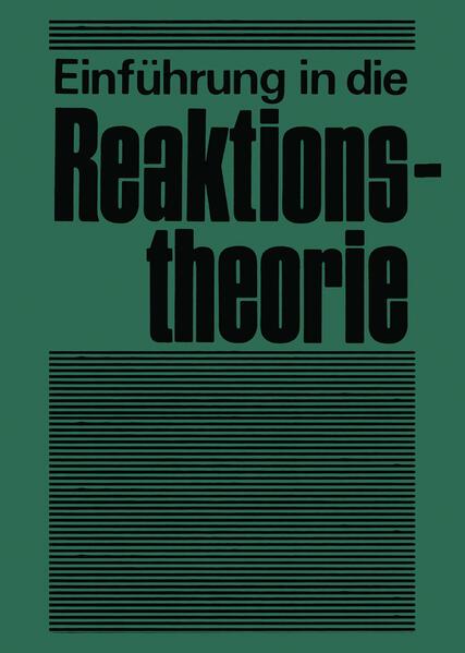 Einführung in die Reaktionstheorie - Coverbild