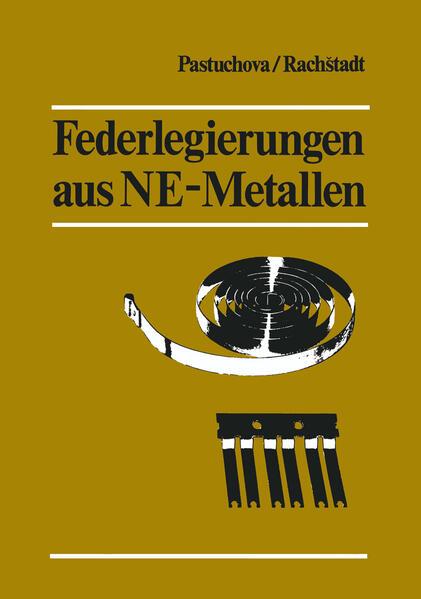 Federlegierungen aus NE-Metallen - Coverbild