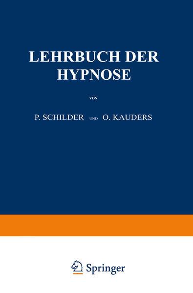 Lehrbuch der Hypnose - Coverbild