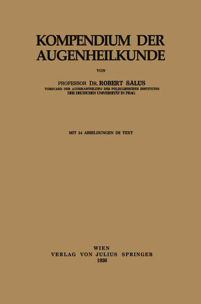 Kompendium der Augenheilkunde - Coverbild