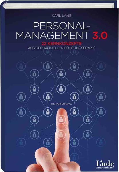 Personalmanagement 3.0 - Coverbild