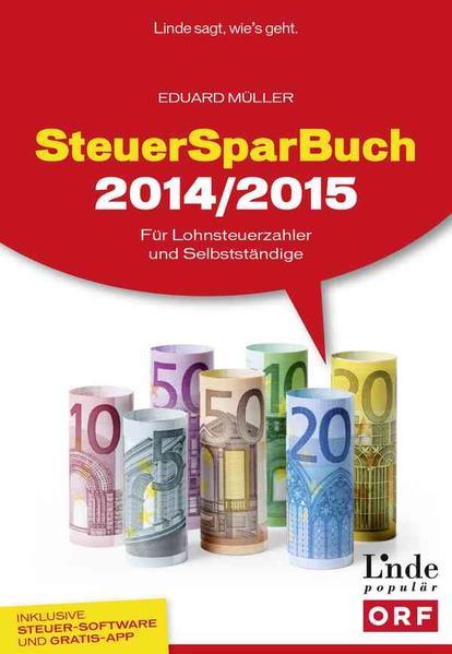 SteuerSparBuch 2014/2015 - Coverbild