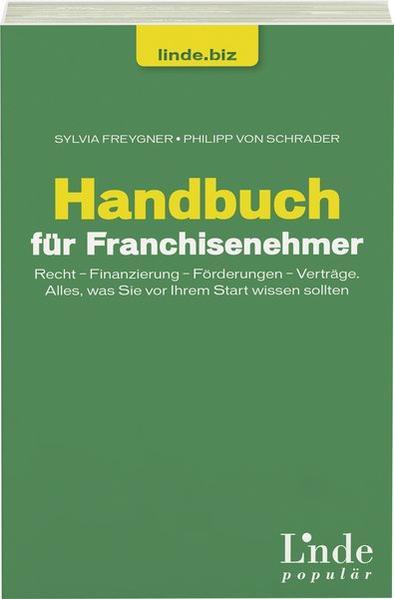 Handbuch für Franchisenehmer - Coverbild