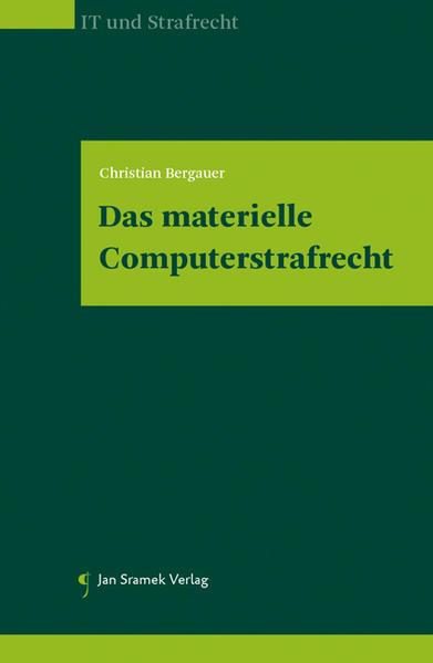 Das materielle Computerstrafrecht - Coverbild