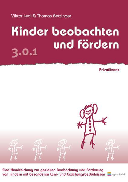 Kinder beobachten und fördern - Coverbild