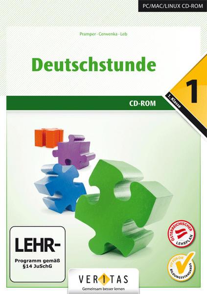 Deutschstunde 1. CD-ROM (EL - Einzellizenz) - Coverbild