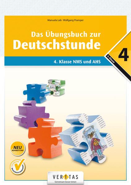 Das Übungsbuch zur Deutschstunde 4 (Neubearbeitung) - Coverbild