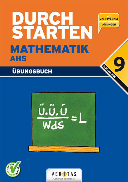 Durchstarten Mathematik AHS 9. Schulstufe NEU - Coverbild