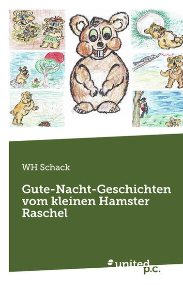 Gute-Nacht-Geschichten vom kleinen Hamster Raschel - Coverbild
